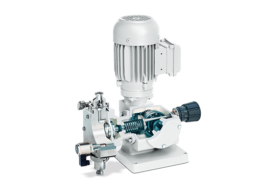 LEWA hygienic pump for the pharmaceutical industry