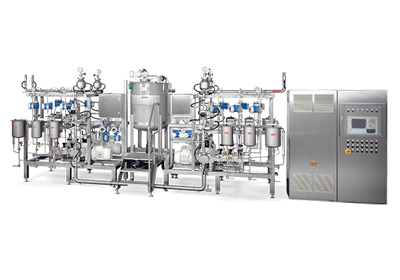 LEWA metering system for the food and beverages industry
